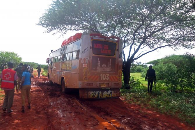 Al-shabaab Bus Attack