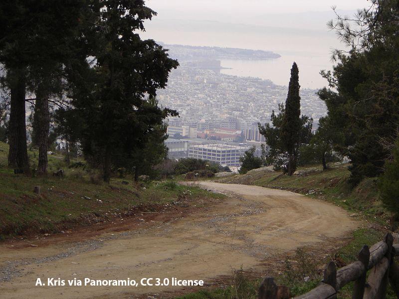 Thessaloniki from Seih Sou Hill