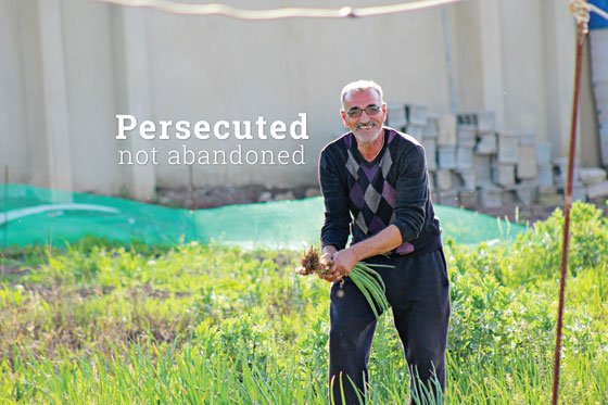 Persecuted, not abandoned