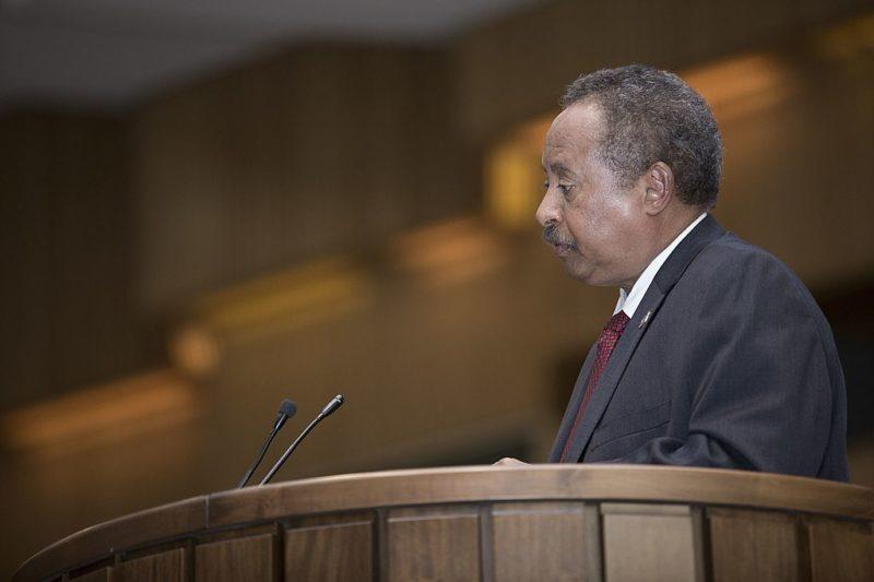 Abdalla Hamdok PM Sudan