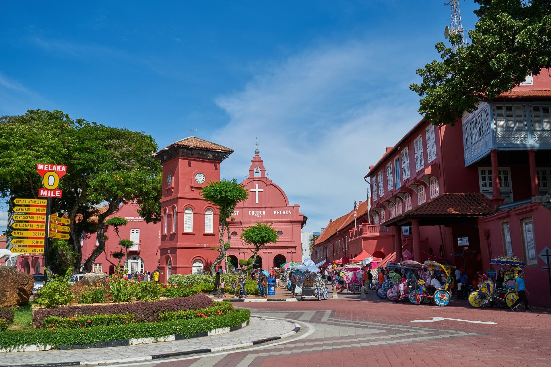 Melaka Church in Malaysia