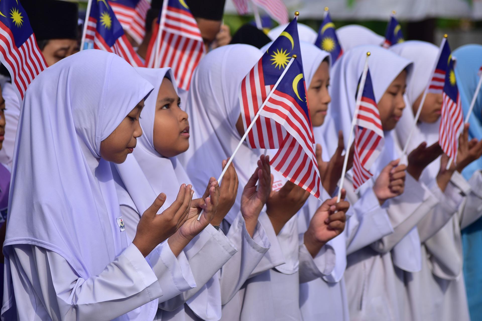 Malaysian Muslim children