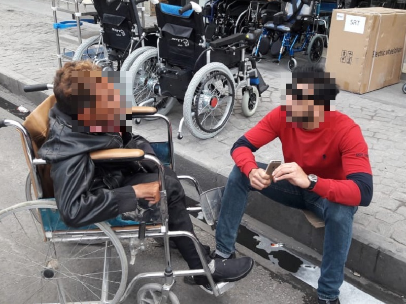 Christian Persecution 2020 Christmas Iraq Wheelchair Gives Security to Iraqi MBB | Persecution