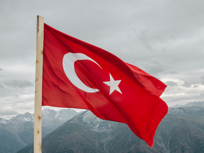 Turkey Flag edited