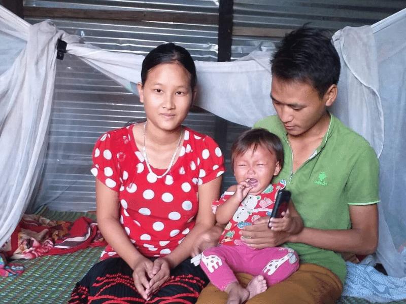 Vu A Sua Family in Vietnam
